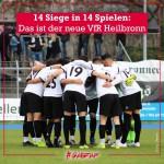14 Spiele 14 Siege