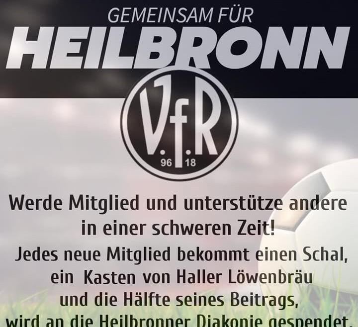 VfR-Mitglied werden und der Diakonie Heilbronn helfen
